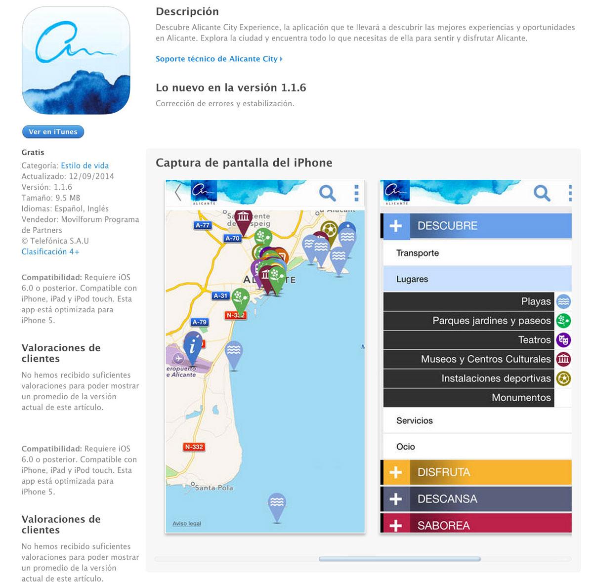 Alicante City. App con gamificación