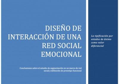 Redes Sociales Emocionales. Bizkailab – Universidad de Deusto