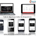 Web Alicante Ciudad del Deporte